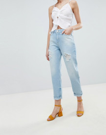 Miss Selfridge Distressed Boyfriend Jeans afbeelding