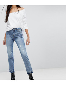 Missguided Tall Distressed Hem Jeans afbeelding
