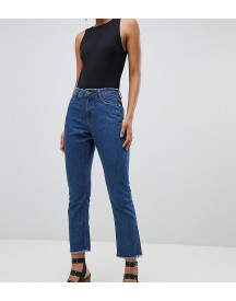 Missguided Tall Wrath Kick Flare Jeans In Mid Wash afbeelding