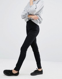 Monki Zip Back Detail Jegging afbeelding