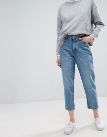 Monki Taiki High Waisted Mom Jeans afbeelding