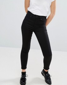 Monki Oki Cropped Skinny High Waisted Jeans afbeelding