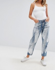 Monki Taiki Painted Mom Jeans afbeelding