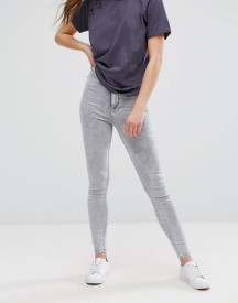 New Look Acid Wash Super Skinny Jeans afbeelding