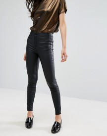 New Look Coated Super Skinny Jeans afbeelding