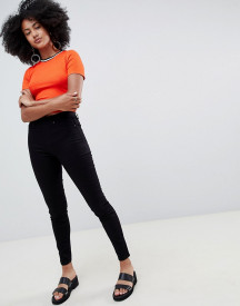 New Look Emilee High Waisted Black Jegging afbeelding