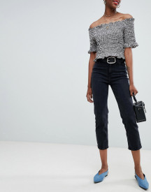 New Look Harlow Straight Leg Crop Jean afbeelding
