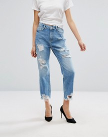 New Look Ripped Mom Jeans afbeelding