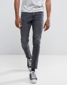 New Look Skinny Fit Jeans In Washed Black afbeelding