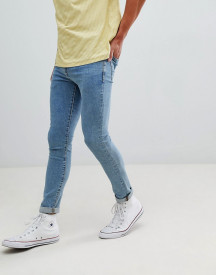 New Look Skinny Jeans In Blue Wash afbeelding