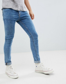 New Look Skinny Jeans In Light Wash afbeelding