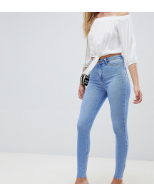 New Look Tall Fray Hem Disco Skinny Jean afbeelding