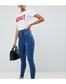 New Look Tall High Waist Skinny Blue Jean afbeelding