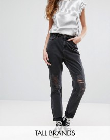New Look Tall Ripped Mom Jeans afbeelding