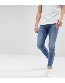 Noak Super Skinny Jeans In Dark Wash Blue afbeelding