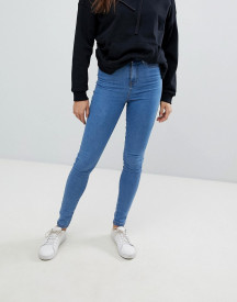 Noisy May Ankle Length High Waist Skinny Jeans afbeelding