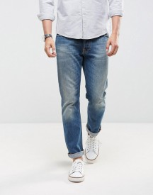 Nudie Jeans Co Dude Dan Jean Straight Fit Wrecking Blues Light Wash afbeelding