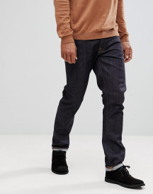 Nudie Jeans Co Dude Dan Straight Fit Jeans In Dark Blue afbeelding