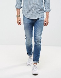 Nudie Jeans Co Lean Dean Jean Taper Fit Highlights Light Wash afbeelding