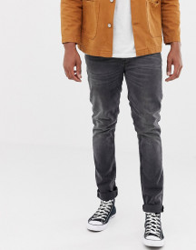 Nudie Jeans Co Lean Dean Tapered Jeans Mono Grey afbeelding