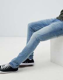 Nudie Jeans Co Lean Dean Tapered Jeans Used Cross afbeelding