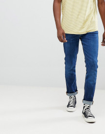 Nudie Jeans Co Lean Dean Tapered Organic Cotton Jeans In Blue Tilt afbeelding