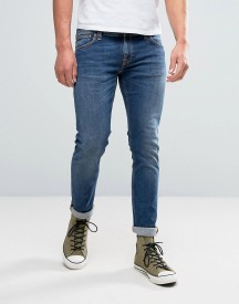 Nudie Jeans Co Long John Jean Television Blue Wash afbeelding