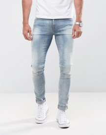 Nudie Jeans Co Skinny Lin Jean Crispy Orange afbeelding