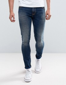 Nudie Jeans Co Skinny Lin Jean Dark Double Indigo Wash afbeelding