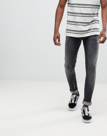 Nudie Jeans Co Skinny Lin Jeans Black Movement afbeelding