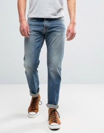 Nudie Jeans Co Steady Eddie Jean Indigo Larch Wash afbeelding