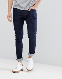 Nudie Jeans Co Tight Terry Twill Jeans In Rinse Blue afbeelding