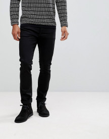 Nudie Jeans Co Tilted Tor Skinny Jeans In Cold Black afbeelding
