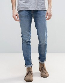 Nudie Grimtim Slim Jeans Best Coast Blues afbeelding