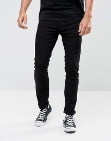 Nudie Jeans Tight Long John Skinny Jeans Black Wash afbeelding