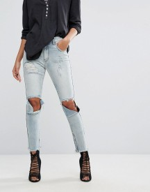 One Teaspoon Freebirds High Waisted Skinny Jean With Extreme Rips afbeelding