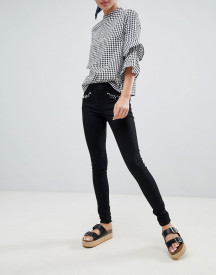 Only Royal Pearl Embellished Skinny Jeans afbeelding