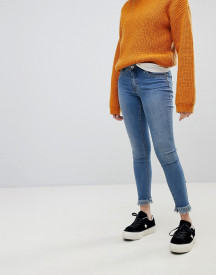 Only Skinny Jean With Frayed Hem afbeelding
