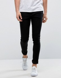 Only & Sons Extreme Skinny Black Jeans afbeelding