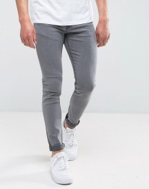 Only & Sons Skinny Washed Grey Jeans afbeelding