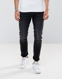 Only & Sons Slim Fit Jeans In Distress Jog Denim afbeelding