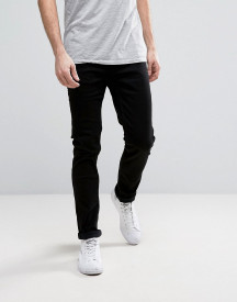 Only & Sons Slim Fit Stretch Jeans In Black afbeelding