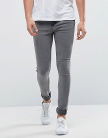Only & Sons Super Extreme Skinny Washd Grey Jeans afbeelding