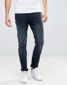 Only & Sons Washed Indigo Jeans In Slim Fit afbeelding
