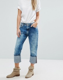Pepe Jeans Donna High Turnup Cropped Jeans afbeelding