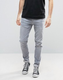 Pepe Nickel Powerflex Skinny Jeans Grey Wash afbeelding