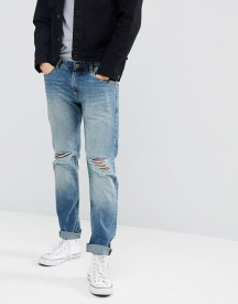 Produkt Regular Fit Jeans With Distressed Knee Details afbeelding