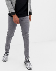 Produkt Skinny Fit Jeans In Washed Grey afbeelding