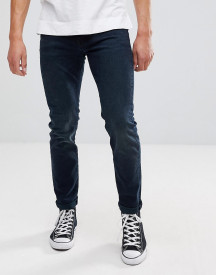 Ps Paul Smith Navy Overdyed Slim Jeans afbeelding