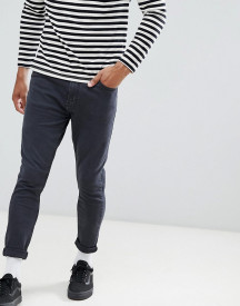 Pull&bear Carrot Fit Jeans In Black afbeelding